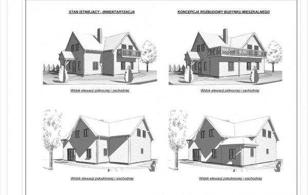 Rozbudowa budynku mieszkalnego, Kobylanka