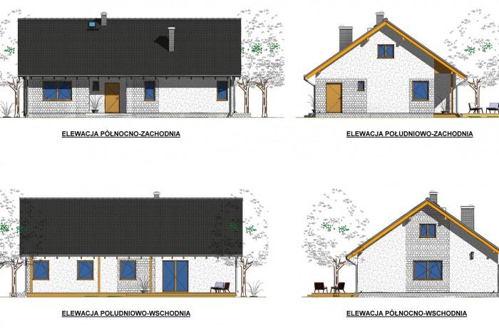 Indywidualny projekt domu jednorodzinnego, Żarowo